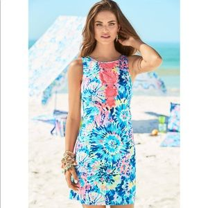 Lilly Pulitzer Adara Shift Dress - Dive In Print